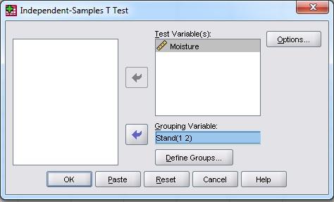 آموزش آزمون T مستقل با استفاده از نرم افزار SPSS با ذکر مثال و تمرین عملی